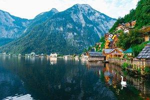 Hallstat Austria Alps