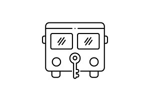 Bus protection icon