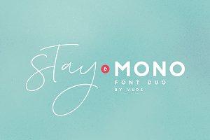 Stay MONO Font