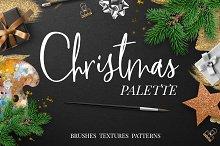 Christmas palette brushpack