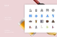 Bar 200 by  in Icons