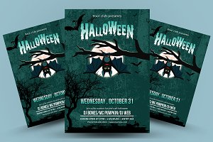 Halloween Party Flyer - V861