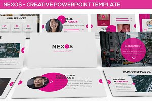 Nexos - Creative Powerpoint Template