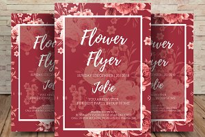 Flowers Flyer Template