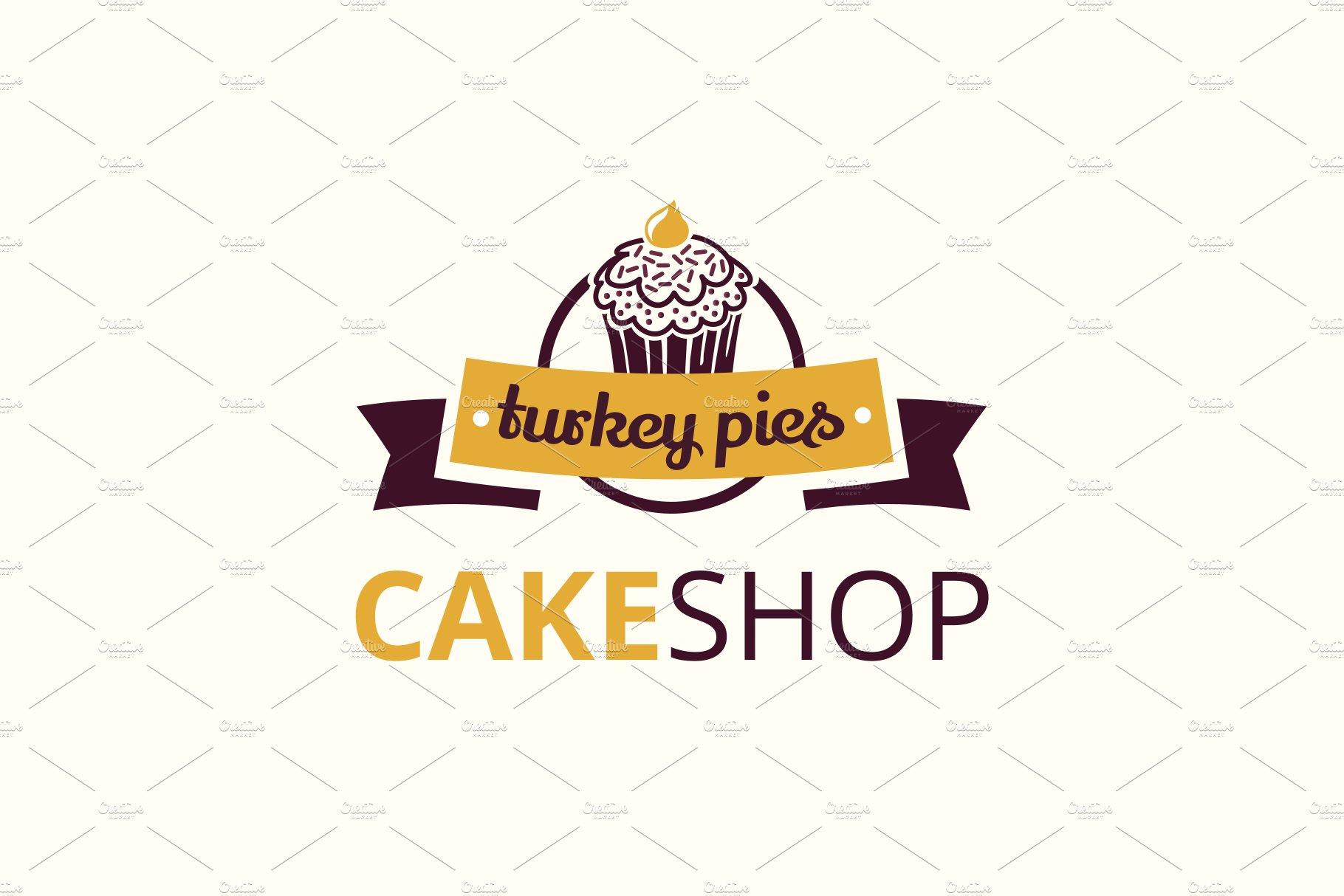 Cake Shop Logo Logo Templates Creative Market