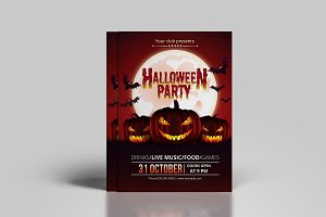 Halloween Party Flyer - V862