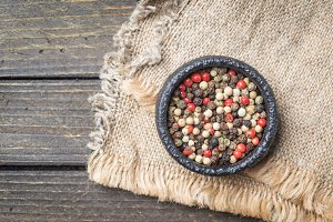 Mix of pepper corns