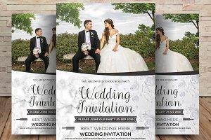 Wedding Invitation Flyer / Poster