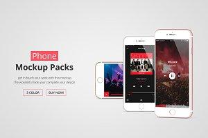 iPhone Mockup Packs
