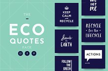 Eco Quotes - 61 Quotes Pack