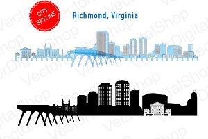Richmond City Vector - Virginia