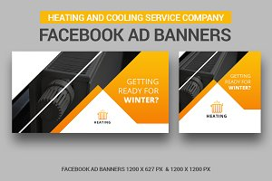 Heating Banners Facebook Ad