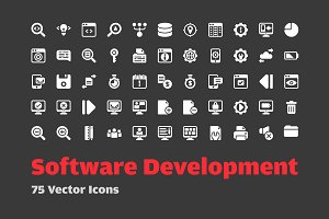 72 Software Development Vector Icons