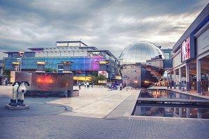 shopping center in Bristol