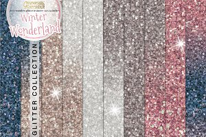 Winter Wonderland glitter collection