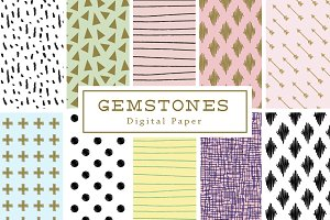 Gemstones Backgrounds