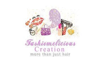 Fashomelicious Logo Template