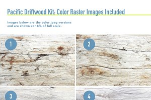 Pacific Driftwood Texture Kit