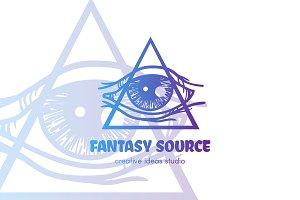 Magic Eye Logo Template