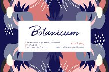 Botanicum. Abstract pattern set.  by  in Patterns