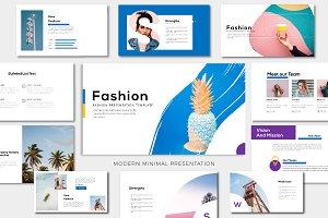 Fashion Googleslide Template