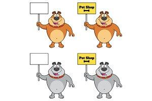 Bulldog Character Collection - 2