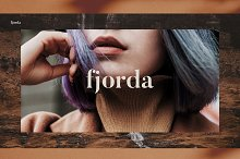 FJORDA - Powerpoint Template