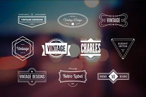 10 Retro Logos Vol. 12