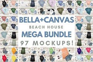 Mockup Bundle Bella Canvas T-Shirt