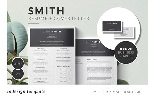 SMITH Minimal Resume Template