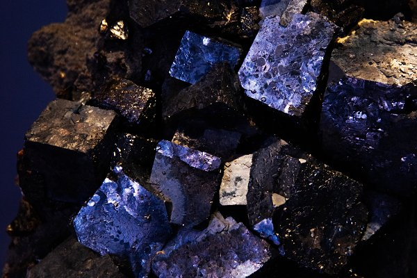 Abstract Stock Photos: The 1221 - Dark Mineral