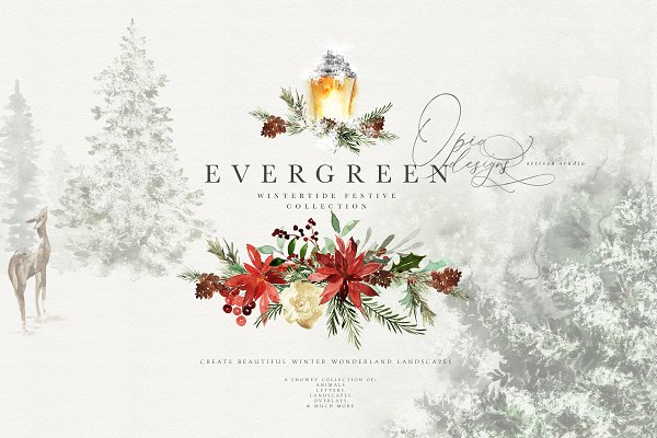 Evergreen - Wintertide Collection