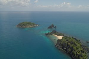 Seascape of Caramoan Islands