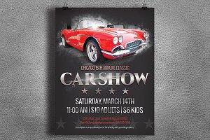 Car Show Flyer - Vintage / Classic