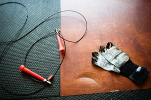 CrossFit Jump Rope and Wraps