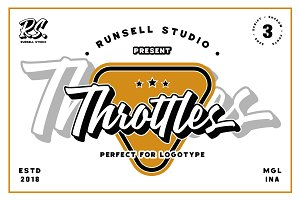 Throttles Font Duo