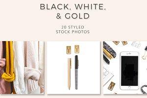 Black, White & Gold (20 Images)