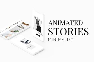 ANIMATED Instagram Minimalist Story