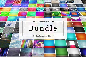 300 Backgrounds in 4k BUNDLE