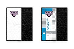 Samsung Galaxy Note 9 2d RubberFlex