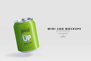 Mini Can Mockups