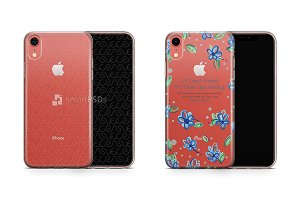 Apple iPhone XR UV TPU Clear Case