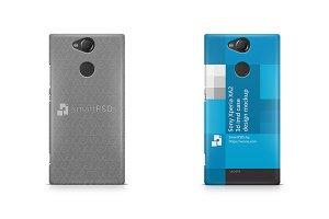 Sony Xperia XA2 3d IMD Case Mockup