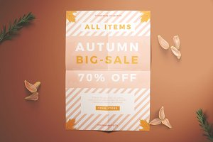 Autumn Sale Flyer Vol.01