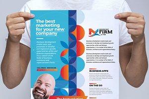 Modern Corporate Poster v2