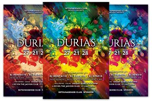 Durias Club Flyer