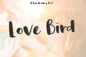 Love bird | Funny Font