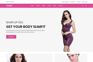 Slimfit - Shapewear eCommerce HTML