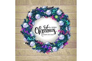 3 Christmas wreaths