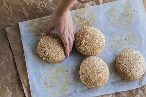 Yummy - freshly baked buns